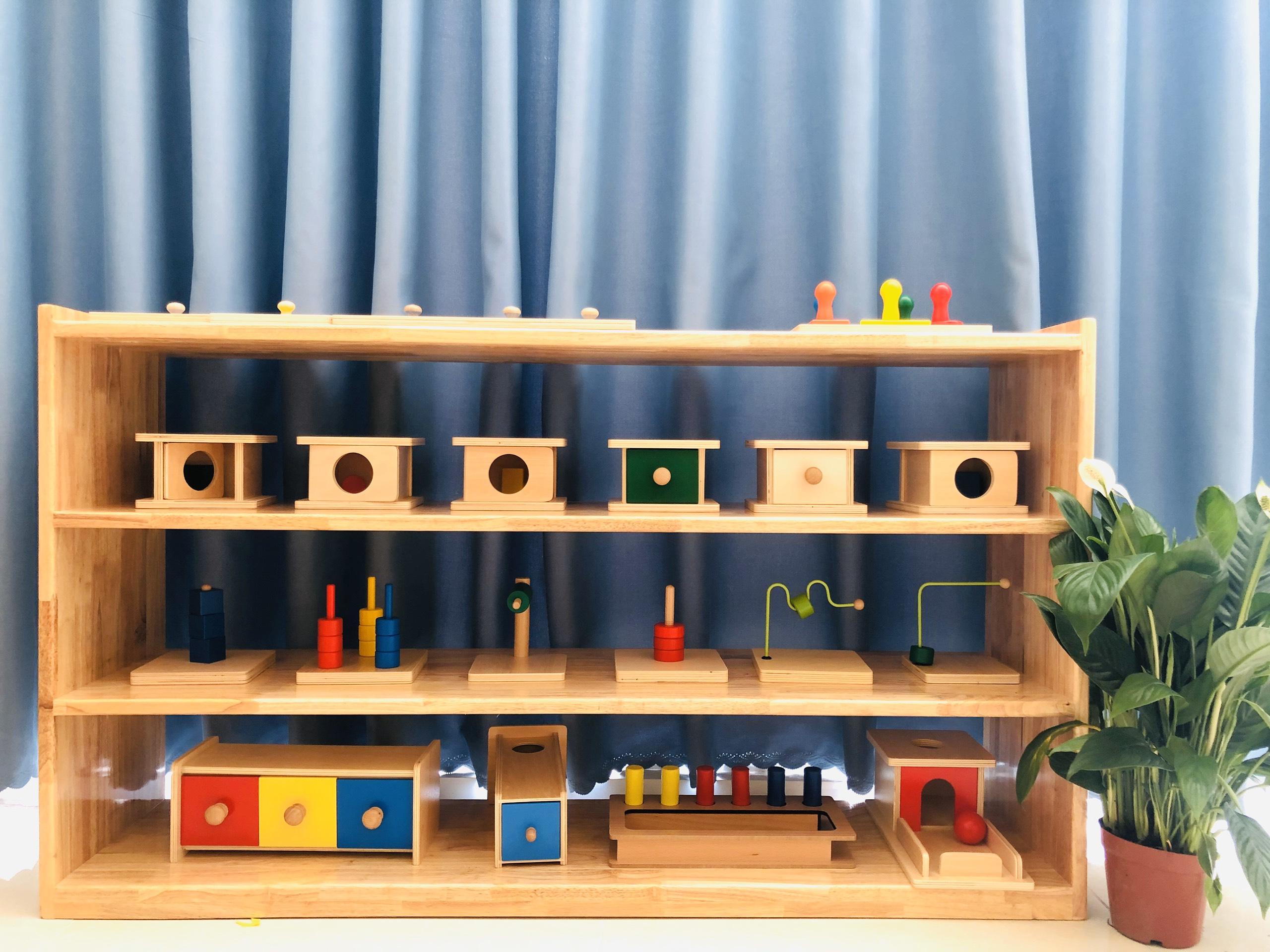 Chương trình Montessori 0-3 tuổi